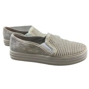 Sketchers Double Up Shine Bright Silver 8.5